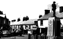 Cinderford, The Triangle c.1955