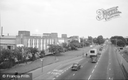 Cippenham, Bath Road Trading Estate 1965