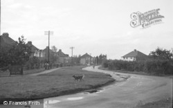 Cippenham, Elmshot Lane 1950