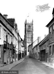 Cirencester, Black Jack Street c.1955