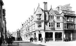 Cirencester, Castle Street 1898