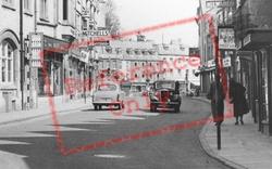 Cirencester, Castle Street c.1955