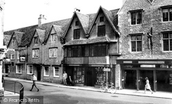 Cirencester, Castle Street From Silver Street c.1965