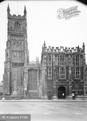 Cirencester, Church Of St John The Baptist c.1955