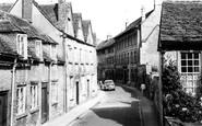 Cirencester, Coxwell Street c1960