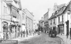 Cirencester, Cricklade Street 1903