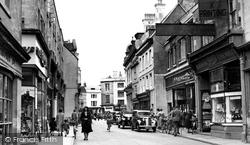 Cirencester, Cricklade Street c.1955