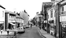 Cirencester, Cricklade Street c.1960