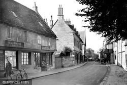 Cirencester, Dollar Street c.1950