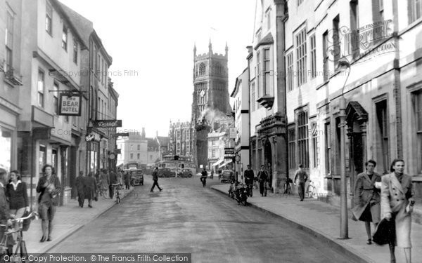 Cirencester, Dyer Street c1955