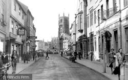 Cirencester, Dyer Street c.1955