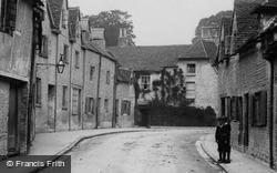 Cirencester, Gloucester Street 1898