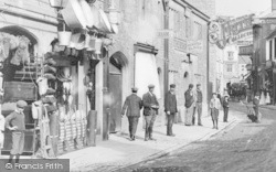 Cirencester, Ironmongers In Cricklade Street 1903