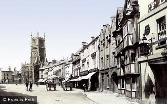 Cirencester, Market Place 1898