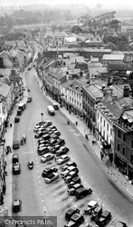 Cirencester, Market Place c.1955