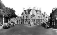 Cirencester, Tetbury Road c1955