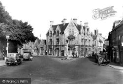 Cirencester, Tetbury Road c.1955