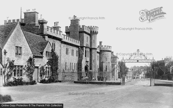 Cirencester, the Barracks 1898