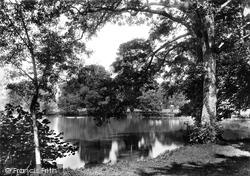 Cirencester, The Lake 1898