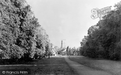 Cirencester, The Park, Drive c.1950