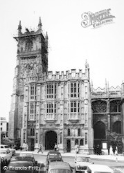 Cirencester, The Porch, St John's Church c.1955