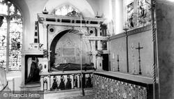 Cirencester, Tomb Of Humpfry And Elizabeth Bridges, Parish Church c.1960