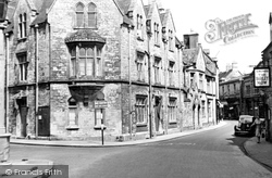 Cirencester, Town Approach c.1955