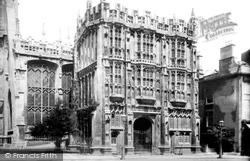 Cirencester, Town Hall 1898