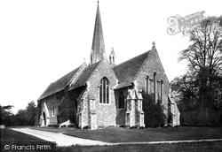 Cirencester, Watermoor, Holy Trinity Church 1898