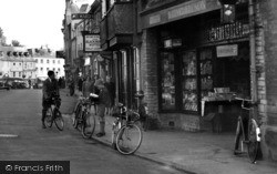 Cirencester, Wh Smith & Son, Castle Street c.1950