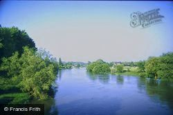 The River Cher c.1984, Civray