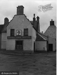 Clackmannan, Royal Oak Hotel 1953