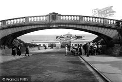 Clacton-on-Sea, Bridge And Pier 1921