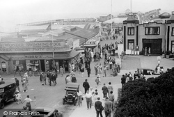 Clacton-on-Sea, Central Promenade c.1947
