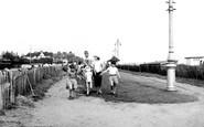 Clacton-on-Sea, Donkey Rides c1960