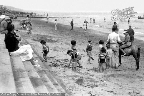 Clacton-on-Sea, Fun On The Beach c.1947