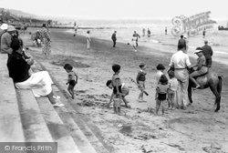 Clacton-on-Sea, Fun On The Beach c.1947