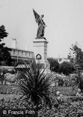 Clacton-on-Sea, Garden of Remembrance, War Memorial c1960
