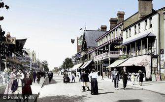 Clacton-on-Sea, Pier Avenue 1907