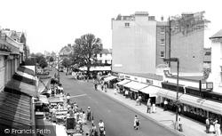 Clacton-on-Sea, Pier Avenue c.1955