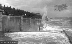Clacton-on-Sea, Rough Sea 1907