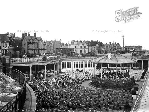 Clacton-on-Sea, The Bandstand 1921