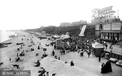 Clacton-on-Sea, The Beach 1904