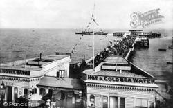 Clacton-on-Sea, The Pier 1901