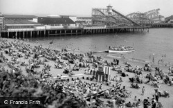 Clacton-on-Sea, The Pier And Steel Stella 1958