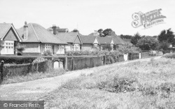 Bungalows In South Lane c.1955, Clanfield