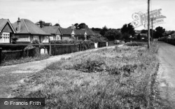 South Lane c.1955, Clanfield