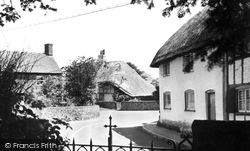 Village From Church Gate c.1955, Clanfield