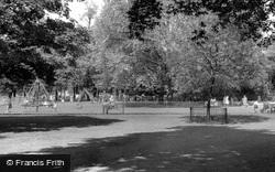 Children's Playground, The Common c.1970, Clapham