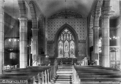 Church Interior 1900, Clapham